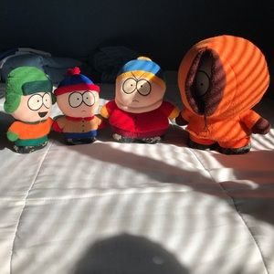 Rare 1998 South Park plush set